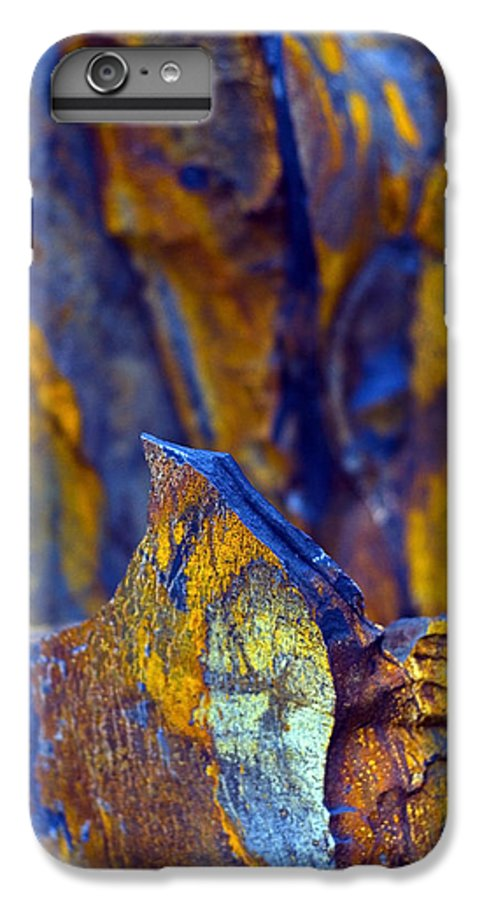 Texture IPhone 6 Plus Case featuring the photograph First Cut Is The Deepest by Skip Hunt