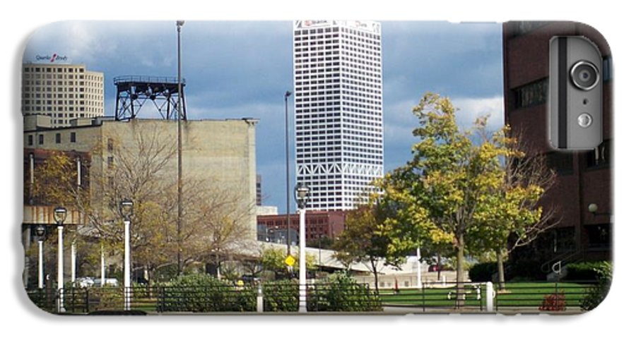 First Star Bank IPhone 6 Plus Case featuring the photograph First Star View From River by Anita Burgermeister