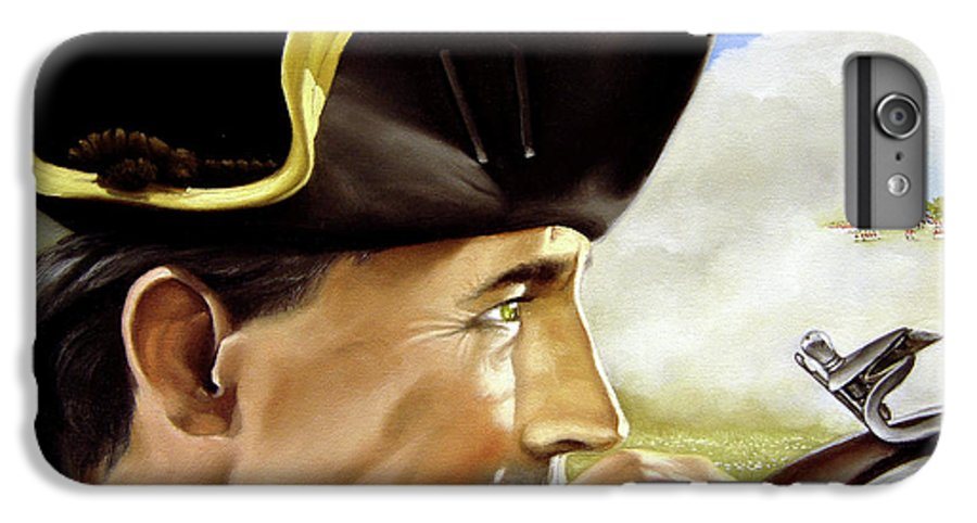 Continental IPhone 6 Plus Case featuring the painting First To Fight by Marc Stewart