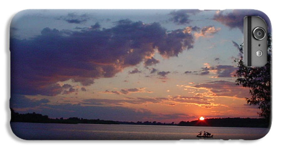St.lawrence River IPhone 6 Plus Case featuring the photograph Fishing On The St.lawrence River. by Jerrold Carton