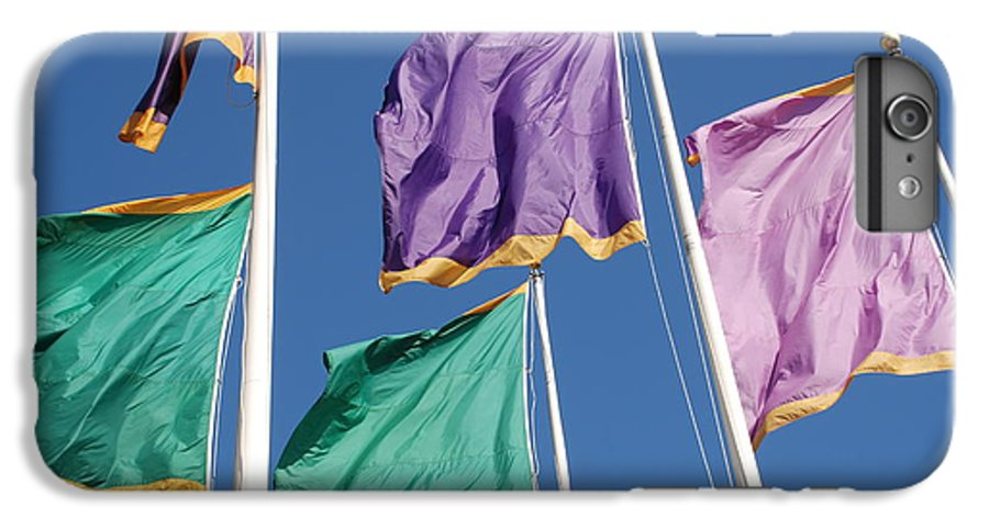 Flags IPhone 6 Plus Case featuring the photograph Flags by Rob Hans