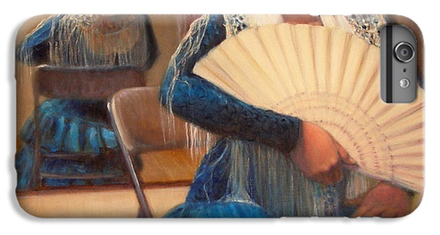 Realism IPhone 6 Plus Case featuring the painting Flamenco 1 by Donelli DiMaria
