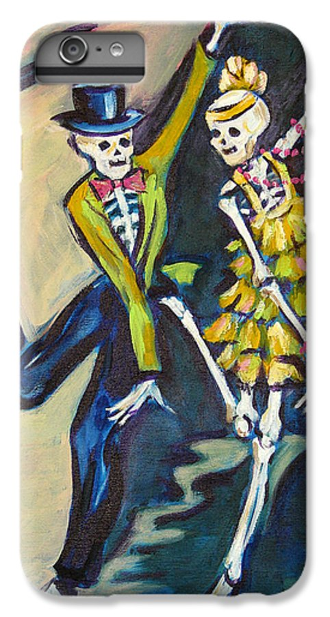 Dance IPhone 6 Plus Case featuring the painting Flappers by Sharon Sieben