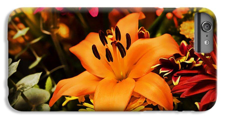 Flower IPhone 6 Plus Case featuring the photograph Floral Arrangement by Al Mueller