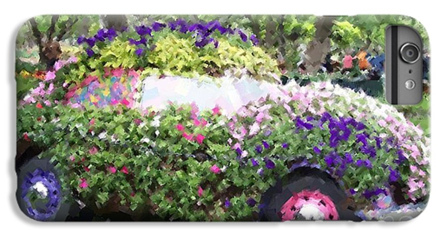Cars IPhone 6 Plus Case featuring the photograph Flower Power by Debbi Granruth