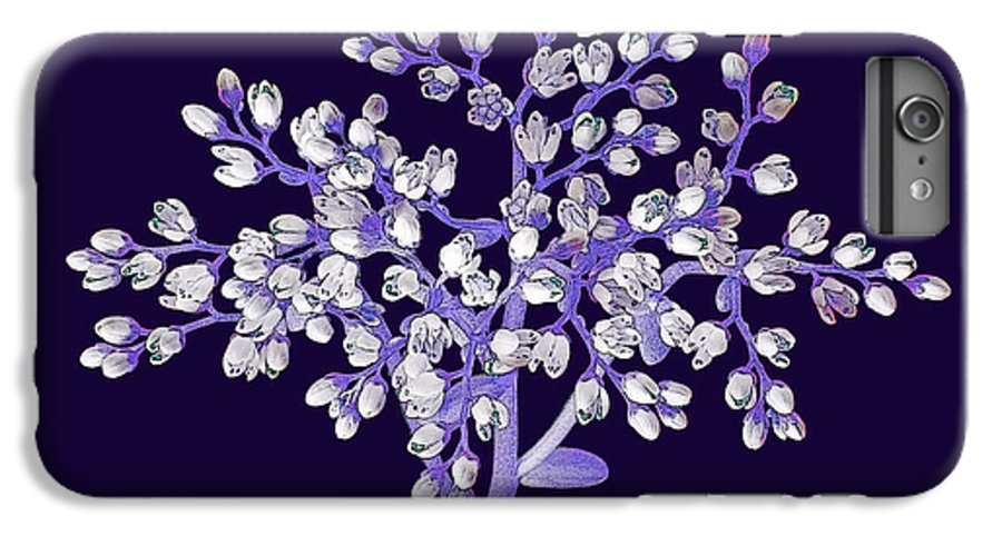 Flower IPhone 6 Plus Case featuring the photograph Flower Tree by Digital Crafts