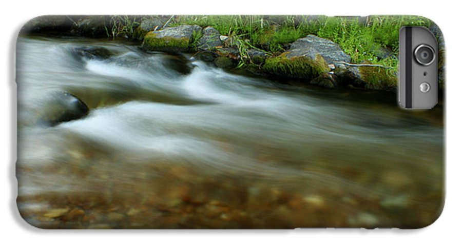 River IPhone 6 Plus Case featuring the photograph Flowing by Idaho Scenic Images Linda Lantzy
