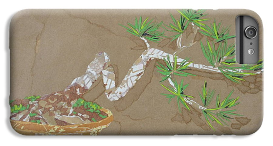 Banzai Tree IPhone 6 Plus Case featuring the painting For Inge by Leah Tomaino
