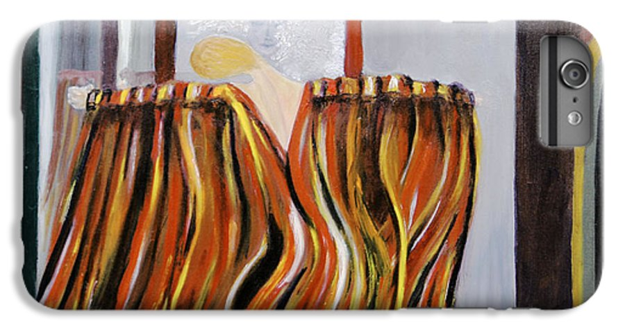 Figurative IPhone 6 Plus Case featuring the painting Forces by Olga Alexeeva