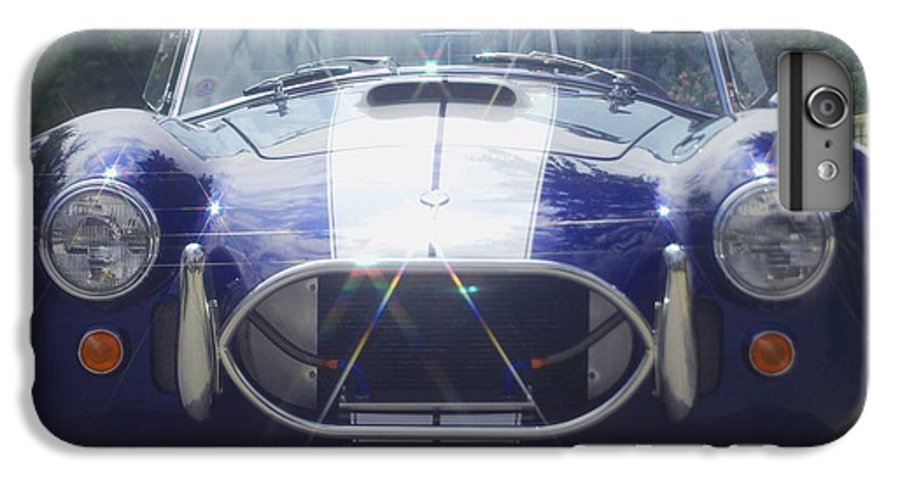 Speed IPhone 6 Plus Case featuring the photograph Ford Cobra by Margaret Fortunato
