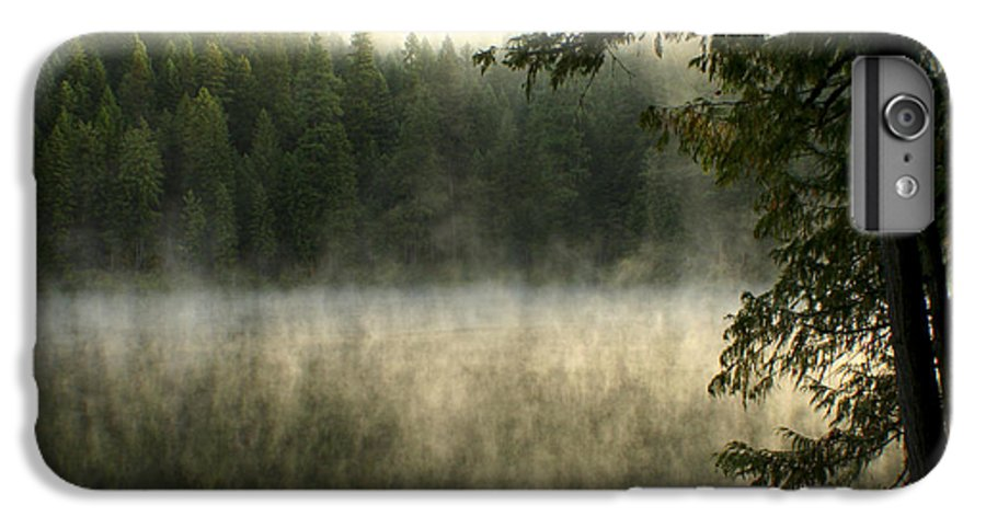 Fog IPhone 6 Plus Case featuring the photograph Forest And Fog by Idaho Scenic Images Linda Lantzy