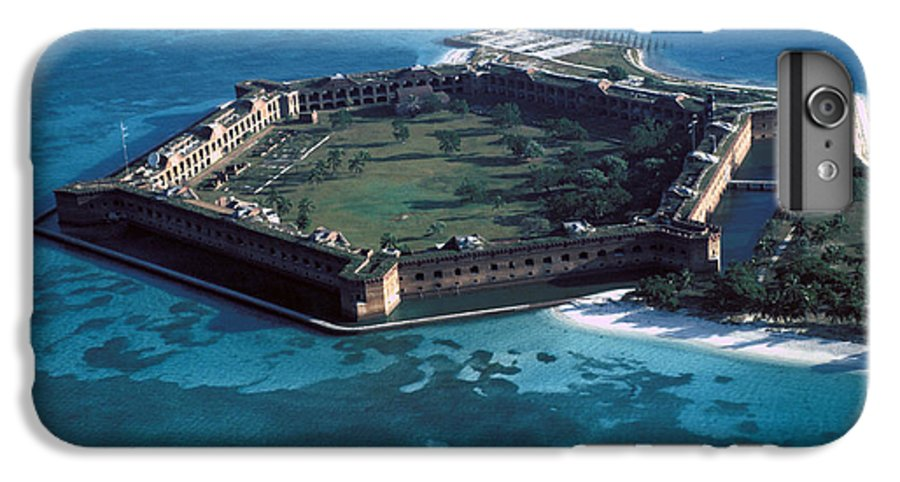 Fort IPhone 6 Plus Case featuring the photograph Fort Jefferson by Carl Purcell