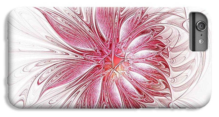 Digital Art IPhone 6 Plus Case featuring the digital art Fragile by Amanda Moore
