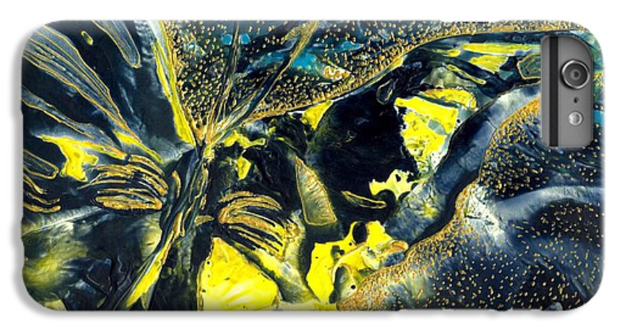 Butterfly IPhone 6 Plus Case featuring the painting Freedom For Margot by Heather Hennick
