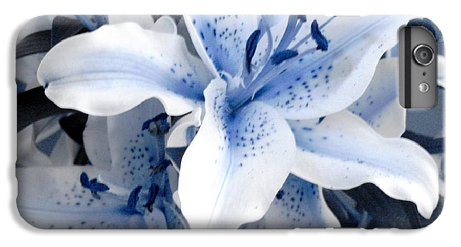 Blue IPhone 6 Plus Case featuring the photograph Freeze by Shelley Jones