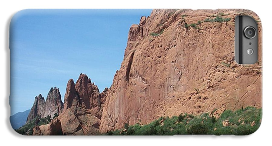 Colorado IPhone 6 Plus Case featuring the photograph Garden Of The Gods by Anita Burgermeister