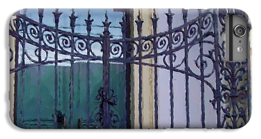 Gate IPhone 6 Plus Case featuring the photograph Gated by Debbi Granruth