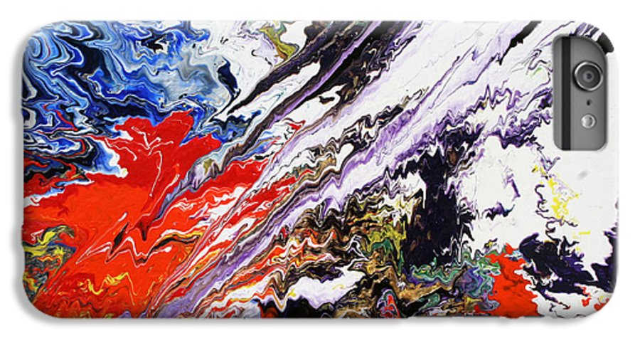 Fusionart IPhone 6 Plus Case featuring the painting Genesis by Ralph White