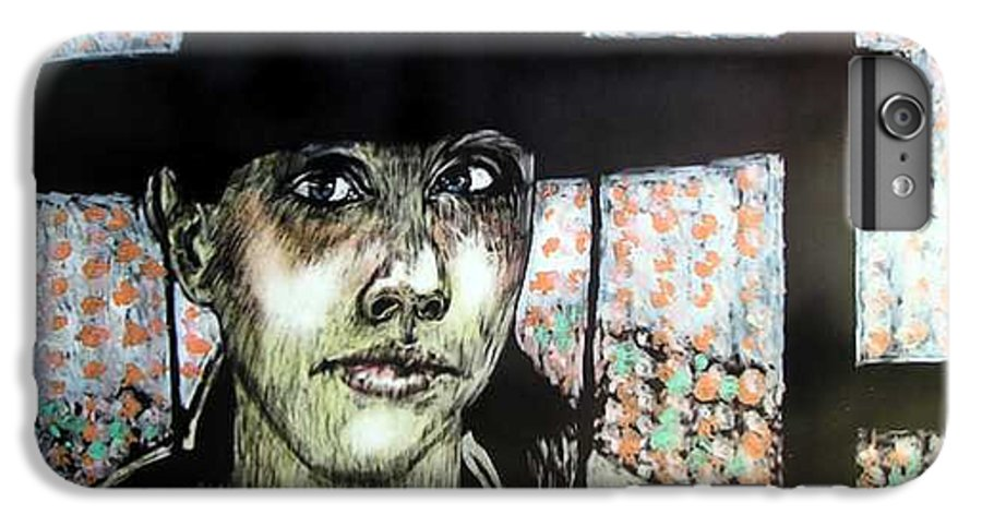 IPhone 6 Plus Case featuring the mixed media Geri by Chester Elmore