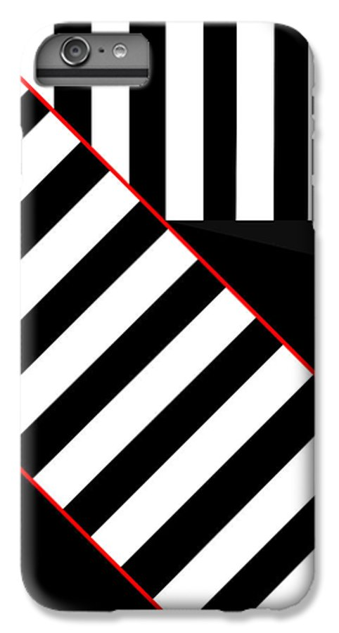 IPhone 6 Plus Case featuring the digital art Ginza The Babel Legend by Asbjorn Lonvig