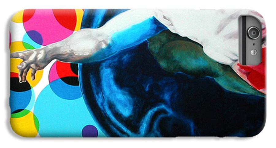Classic IPhone 6 Plus Case featuring the painting God by Jean Pierre Rousselet