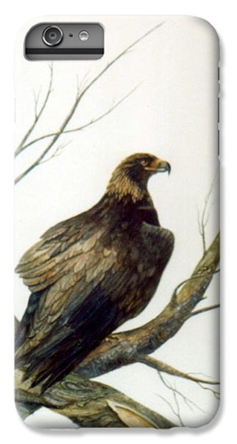 Eagle IPhone 6 Plus Case featuring the painting Golden Eagle by Ben Kiger