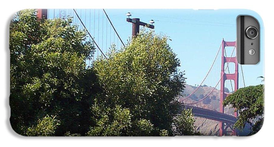 Golden Gate Bridge IPhone 6 Plus Case featuring the photograph Golden Gate by Elizabeth Klecker