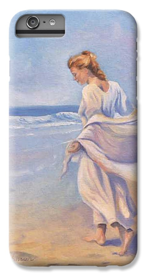 Beach IPhone 6 Plus Case featuring the painting Golden Girls by Jay Johnson