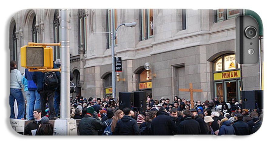 Church IPhone 6 Plus Case featuring the photograph Good Friday On Trinity Place by Rob Hans