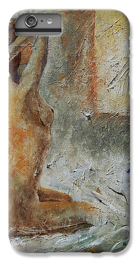 Nude IPhone 6 Plus Case featuring the painting Good Morning Sunshine by Pol Ledent