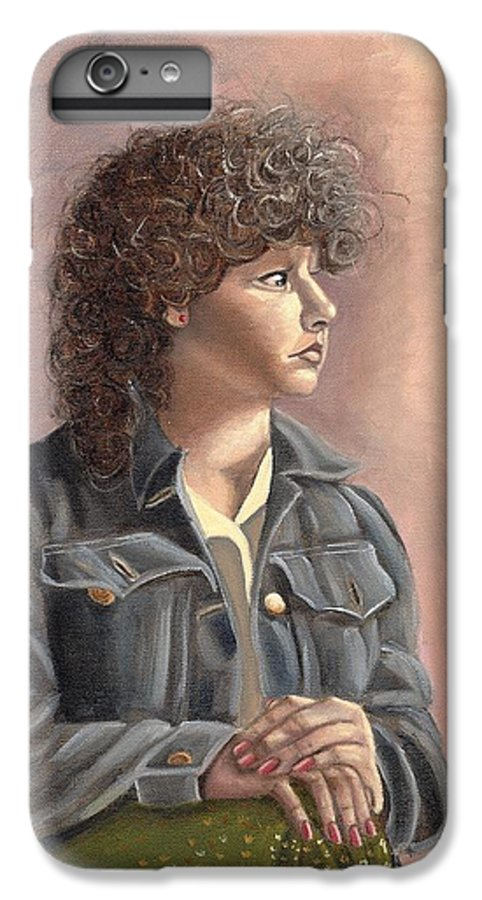 IPhone 6 Plus Case featuring the painting Grace by Toni Berry
