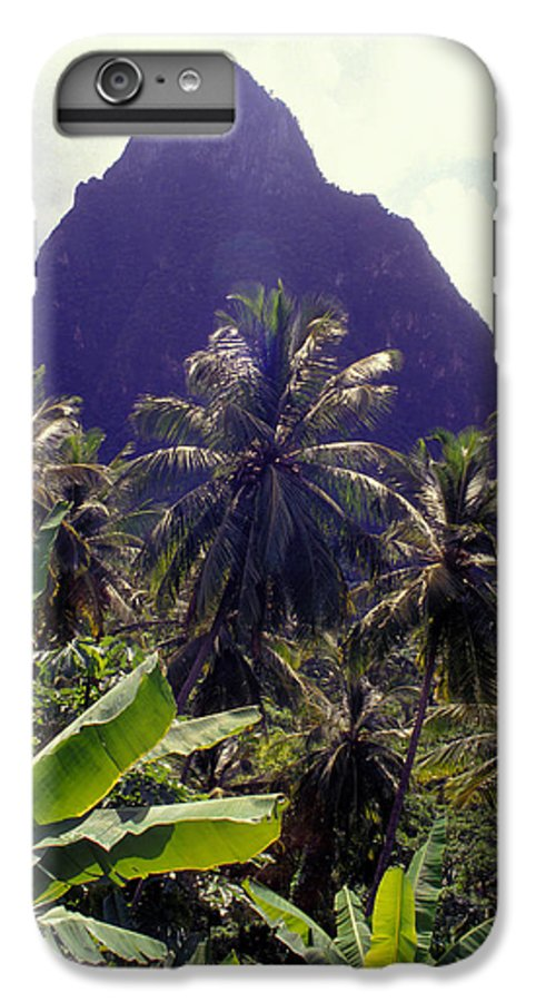 Caribbean IPhone 6 Plus Case featuring the photograph Grand Piton by Carl Purcell