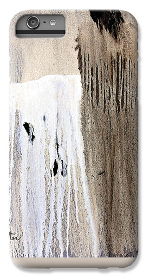 Native American IPhone 6 Plus Case featuring the painting Great Spirit by Patrick Trotter