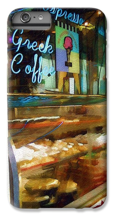 Greek IPhone 6 Plus Case featuring the photograph Greek Coffee by Sandy MacGowan