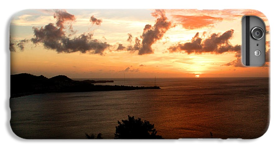 Sunset IPhone 6 Plus Case featuring the photograph Grenadian Sunset II by Jean Macaluso