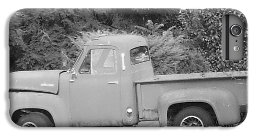 Truck IPhone 6 Plus Case featuring the photograph Grounded Pickup by Pharris Art