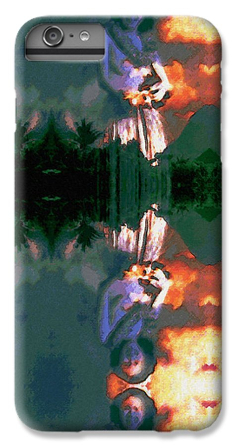 Rainbow Colors Digital IPhone 6 Plus Case featuring the photograph Haili Moe by Kenneth Grzesik