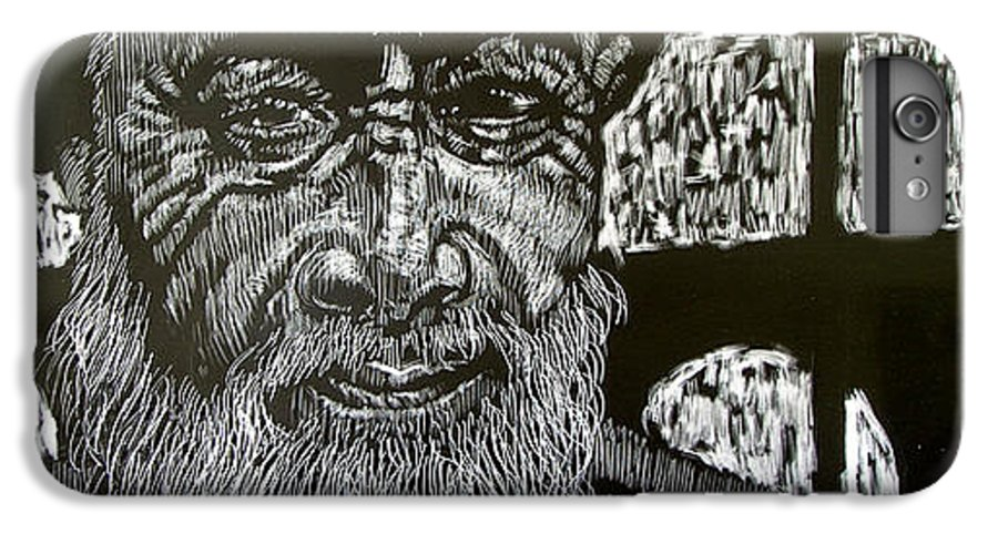 IPhone 6 Plus Case featuring the mixed media Hayes Street Wizard by Chester Elmore