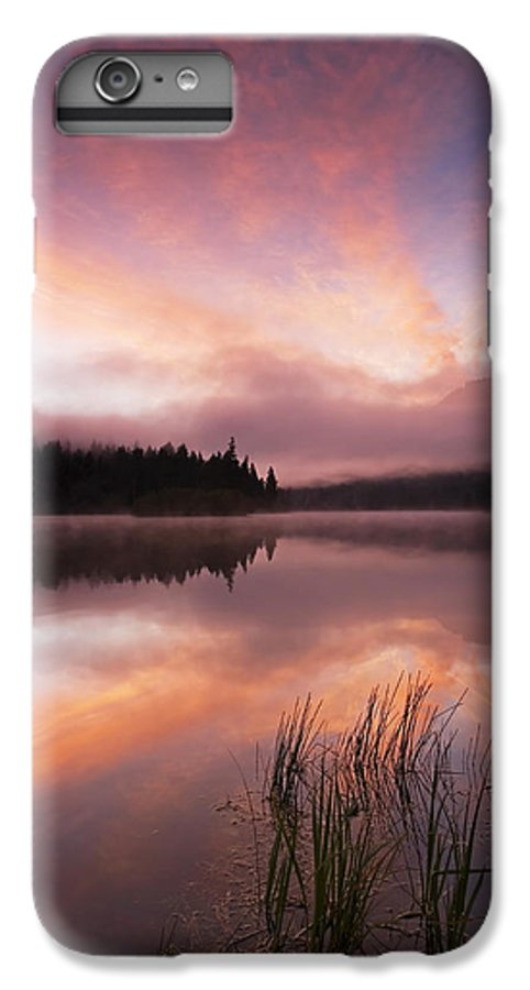 Sunrise IPhone 6 Plus Case featuring the photograph Heavenly Skies by Mike Dawson