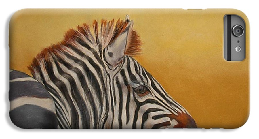 Africa IPhone 6 Plus Case featuring the painting Hello Africa by Ceci Watson