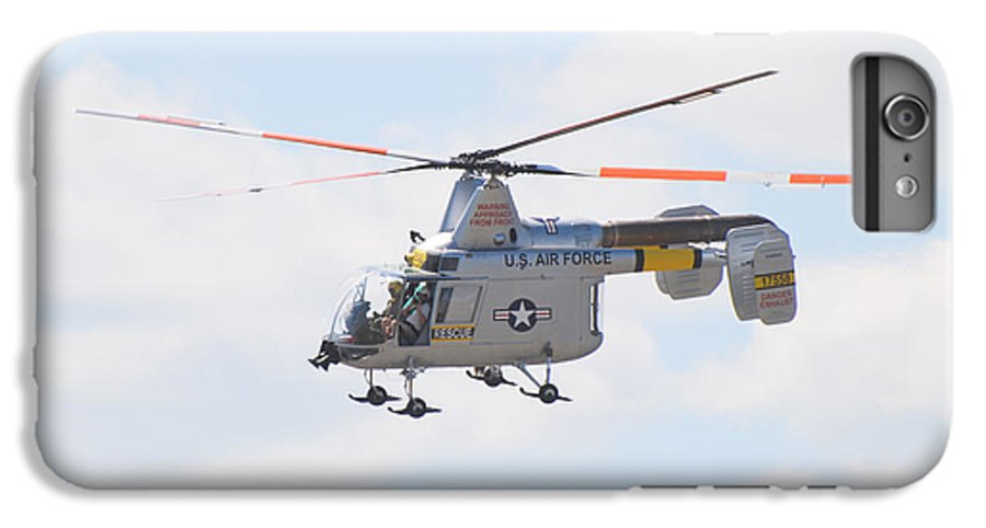 Helicopter IPhone 6 Plus Case featuring the photograph Hh-43b Huskie by Larry Keahey