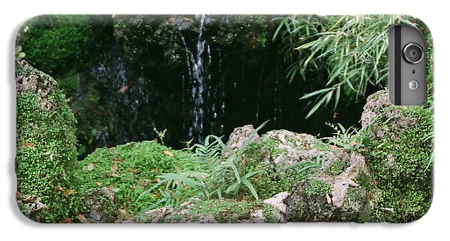 Nature IPhone 6 Plus Case featuring the photograph Hidden Waterfall by Dean Triolo