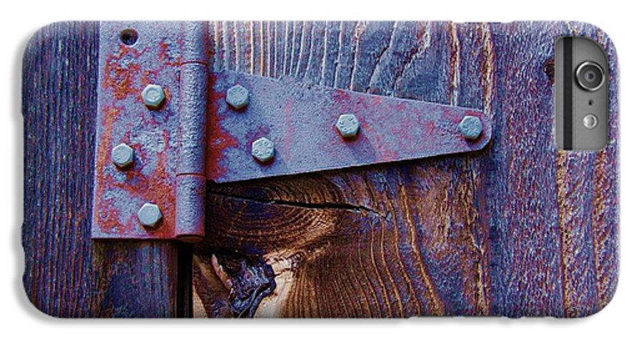 Hinge IPhone 6 Plus Case featuring the photograph Hinged by Debbi Granruth