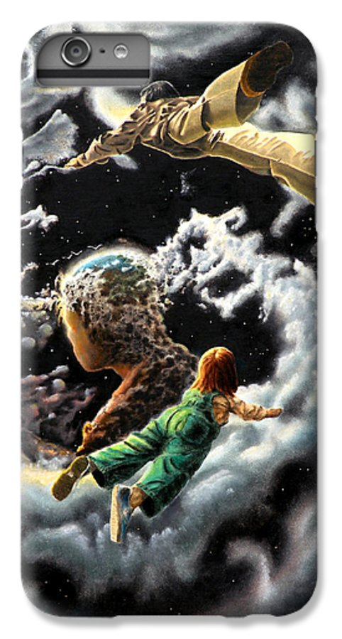 Fantasy IPhone 6 Plus Case featuring the painting Homecoming by Dave Martsolf