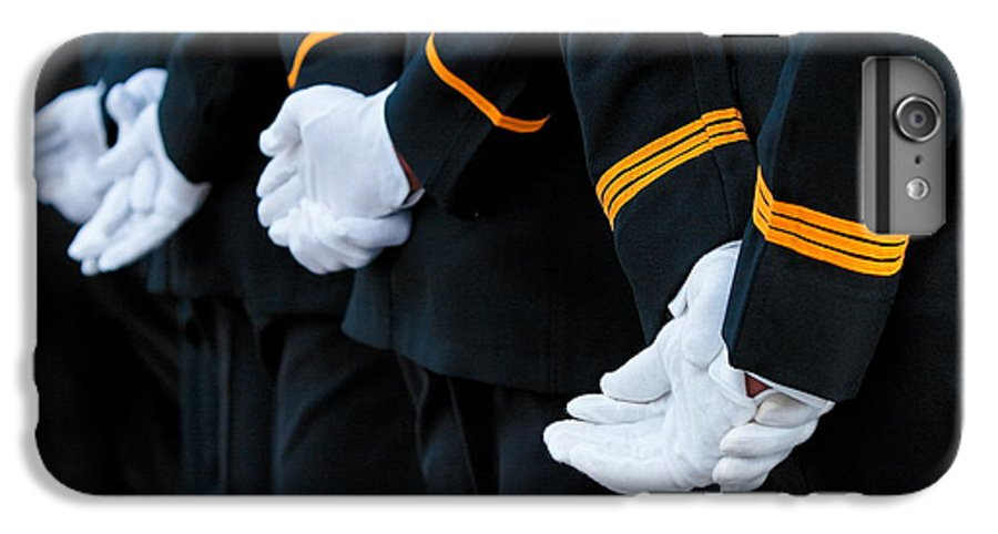 Military IPhone 6 Plus Case featuring the photograph Honor Guard by Lone Dakota Photography