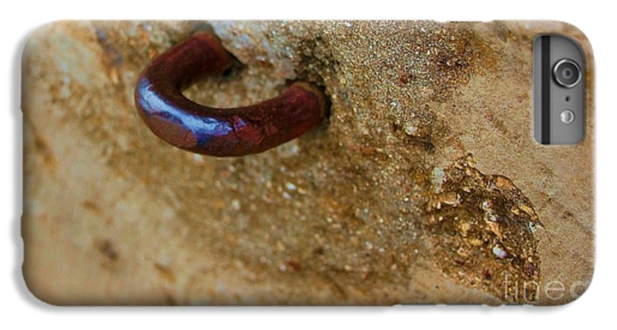 Concrete IPhone 6 Plus Case featuring the photograph Hooked by Debbi Granruth