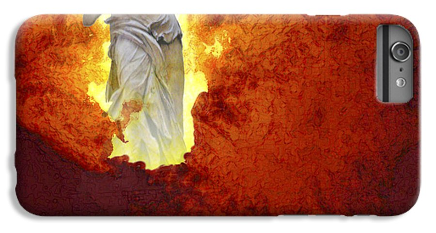 Painting IPhone 6 Plus Case featuring the painting Hope by Ann Tracy