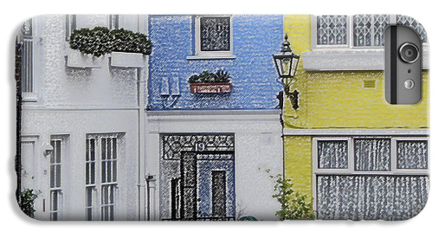 House IPhone 6 Plus Case featuring the photograph Houses by Amanda Barcon