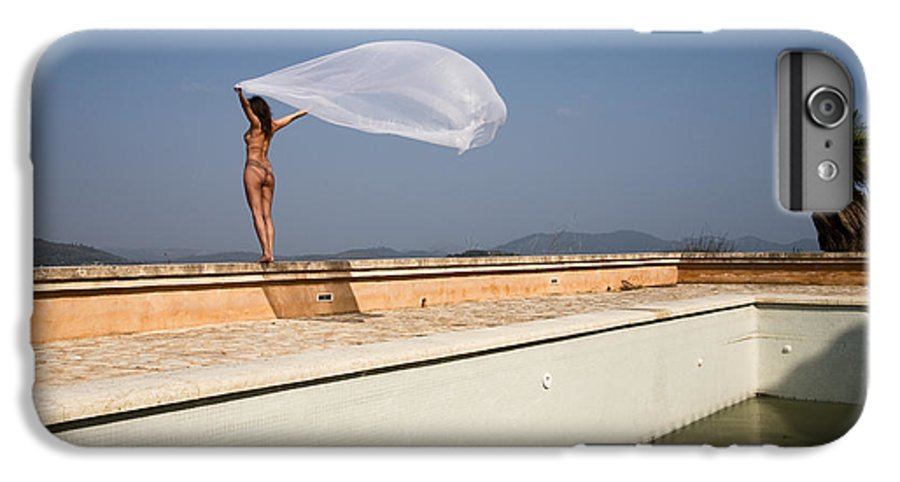 Sensual IPhone 6 Plus Case featuring the photograph I Will Fly To You by Olivier De Rycke