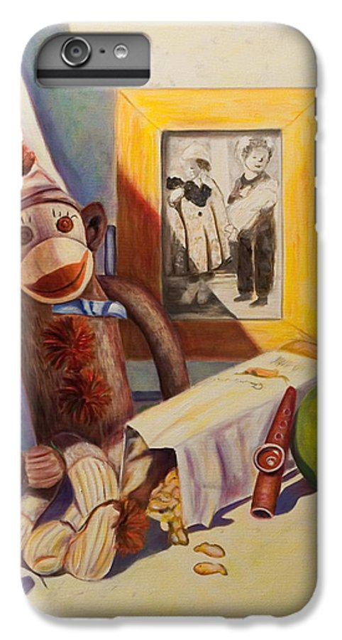 Children IPhone 6 Plus Case featuring the painting I Will Remember You by Shannon Grissom